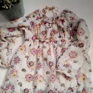 Route 66 baby floral dress size 18m